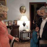 Mercedes y Antonio en la decimoquinta temporada de 'Cuéntame cómo pasó'