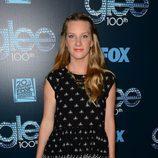 Heather Morris en la celebración del capítulo 100 de 'Glee'