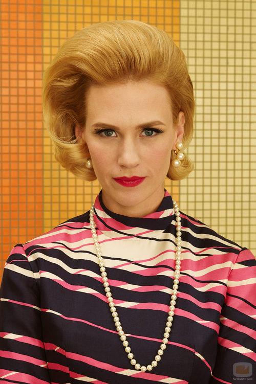 Betty Francis (January Jones) en la séptima temporada de 'Mad Men'