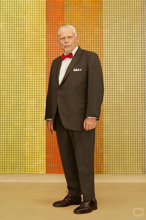 Bertram Cooper (Robert Morse) en la séptima temporada de 'Mad Men'
