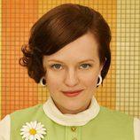 Peggy Olson (Elisabeth Moss) en la séptima temporada de 'Mad Men'