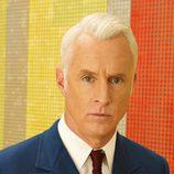Roger Sterling (John Slattery) en la séptima temporada de 'Mad Men'