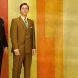 Rivales de Sterling Cooper y asociados en 'Mad Men': Jim Cutler y Ted Chaough (Harry Hamlin y Kevin Rahm)