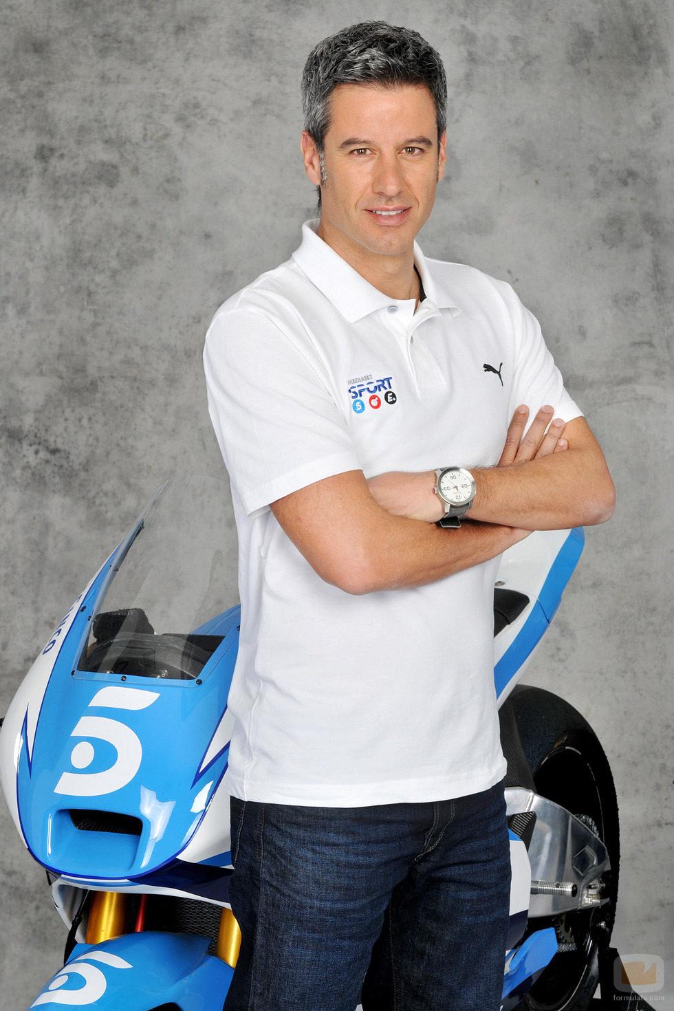 Nico Abad en el 'Mundial de MotoGP 2014'