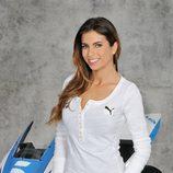 Melissa Jiménez en el 'Mundial de MotoGP 2014'