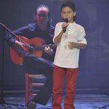 Raúl Vidal en la final de 'La Voz Kids'