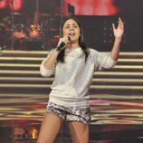 Pilar Bodago en la final de 'La Voz Kids'