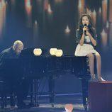 María Parrado canta en la final de 'La Voz Kids'