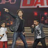 Bisbal canta con Raúl y Carlos Alfredo