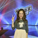 María, ganadora de la primera edición de 'La voz kids'