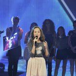 """María canta """"Lucía"""" de Serrat en la final de 'La voz kids'"""