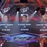 Las votaciones de 'La voz kids'