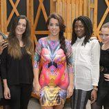 Ruth Lorenzo junto con Mey Green, Sandra Borrego, Aiwinnie Mybaby y Alana Sinkëy