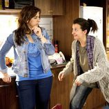 Chus y Lola en la tercera temporada de 'Con el culo al aire'