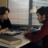 Bárbara Goenaga y Ricardo Gómez conversan en 'Cuéntame cómo pasó'