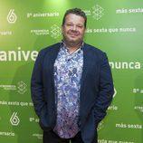 Alberto Chicote en el 8º aniversario de laSexta