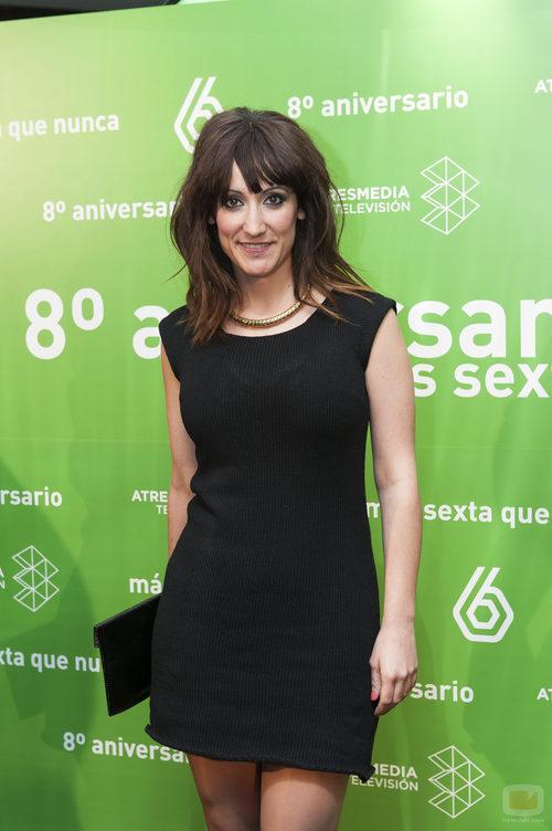 Ana Morgade en el 8º aniversario de laSexta
