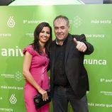 Antonio García Ferreras y Ana Pastor en el 8º aniversario de laSexta