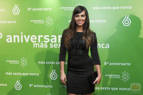 Cristina Pedroche en el 8º aniversario de laSexta