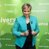 Gloria Serra en el 8º aniversario de laSexta