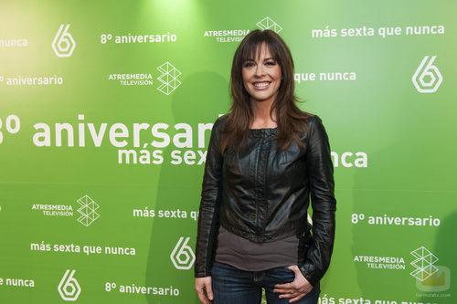 Mamen Mendizabal en el 8º aniversario de laSexta