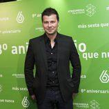 Marc Redondo en el 8º aniversario de laSexta