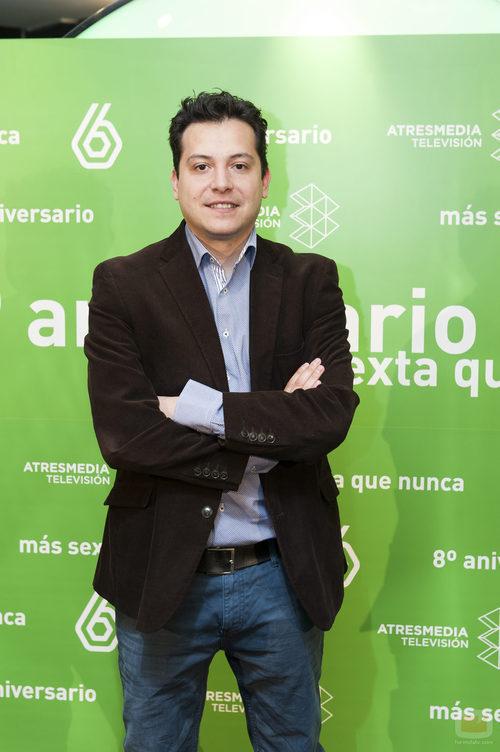 Mario López en el 8º aniversario de laSexta
