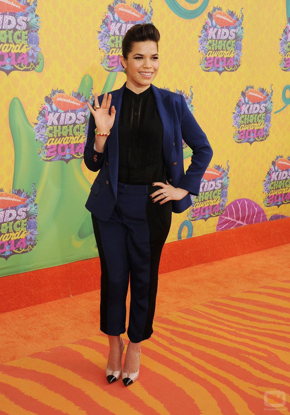 America Ferrera en los Nickelodeon Kids' Choice Awards 2014