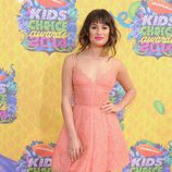 Lea Michele en los Nickelodeon Kids' Choice Awards 2014