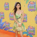 Victoria Justice en los Nickelodeon Kids' Choice Awards 2014