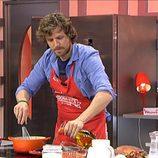 Álvaro de la Lama en 'Mi madre cocina mejor que la tuya'