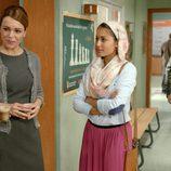 Hiba Abouk conversa en 'El Príncipe'