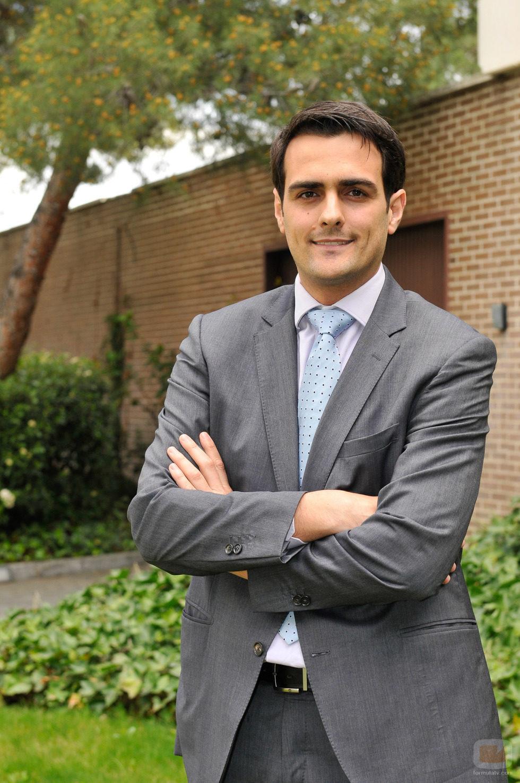 Guillermo Pérez, Director Adjunto de MRW posando para 'El jefe infiltrado'