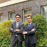 Guillermo Pérez de MRW y Jesús Navarro de Domino's pizza para 'El jefe infiltrado'