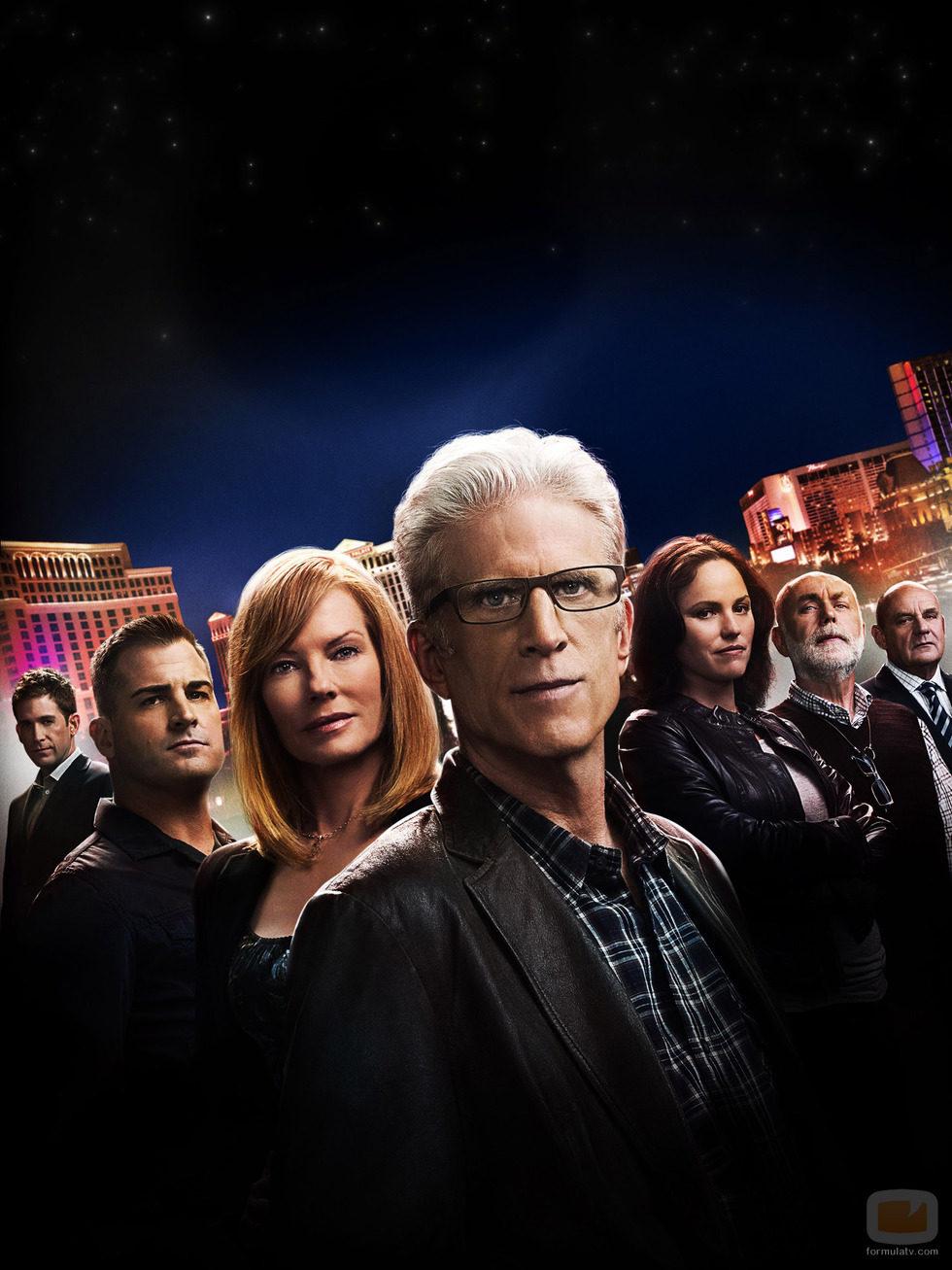 Reparto de la 12ª temporada de 'CSI: Las Vegas'
