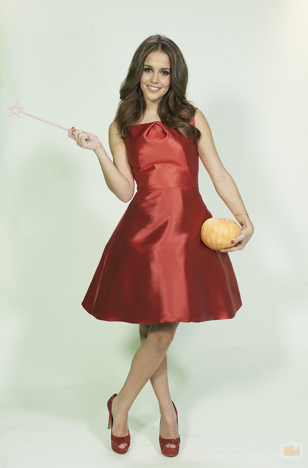 Laura es la princesa del cuento en 'Un príncipe para Laura'