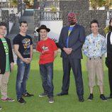El grupo de los nerds en 'Un príncipe para Laura'