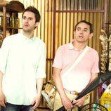 Julián López e Iñaki Miramón en 'Con el culo al aire'