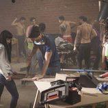 Los alumnos de 'Dreamland' reforman un edificio