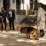 Un perro aterroriza a los protagonistas de 'Los Misterios de Laura'