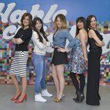 Las cinco presentadoras de 'Hable con ellas'