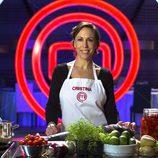 Cristina, concursante de la segunda edición de 'MasterChef'
