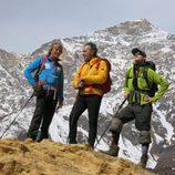 Jesús Calleja, José Coronado y Nicolás Coronado en Nepal en 'Planeta Calleja'