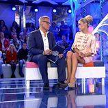 Luján Argüelles junto con Jordi González en 'Hay una cosa que te quiero decir'