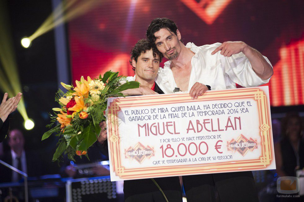 Miguel Abellán y Felipe López, ganador y finalista de '¡Mira quién baila!'