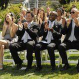 Los protagonistas de 'Psych' asisten a una boda en la séptima temporada