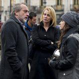 Gonzalo de Castro, Belén Rueda y Macarena García en 'B&b'