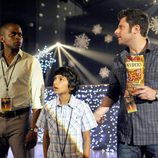Gus, Maximus y Shawn en 'Psych'