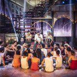 Ricky Martin y el reparto de 'Dreamland'