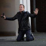 Jack Bauer se arrodilla en '24: El día final'